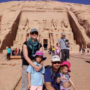 family trip to egypt