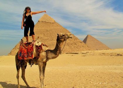 Full Day Pyramids of Giza & Sphinx & the Egyptian Museum