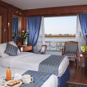 The Sonesta St. George cruise look at egypt