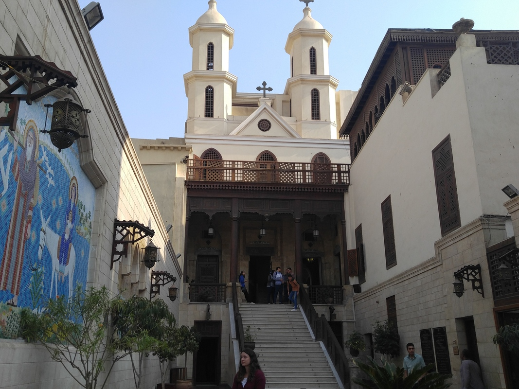Oldest churches in cairo