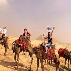 camel ride at the pyramids trip