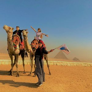 egypt tour with kids and mother