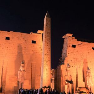 luxor temple best lighted up