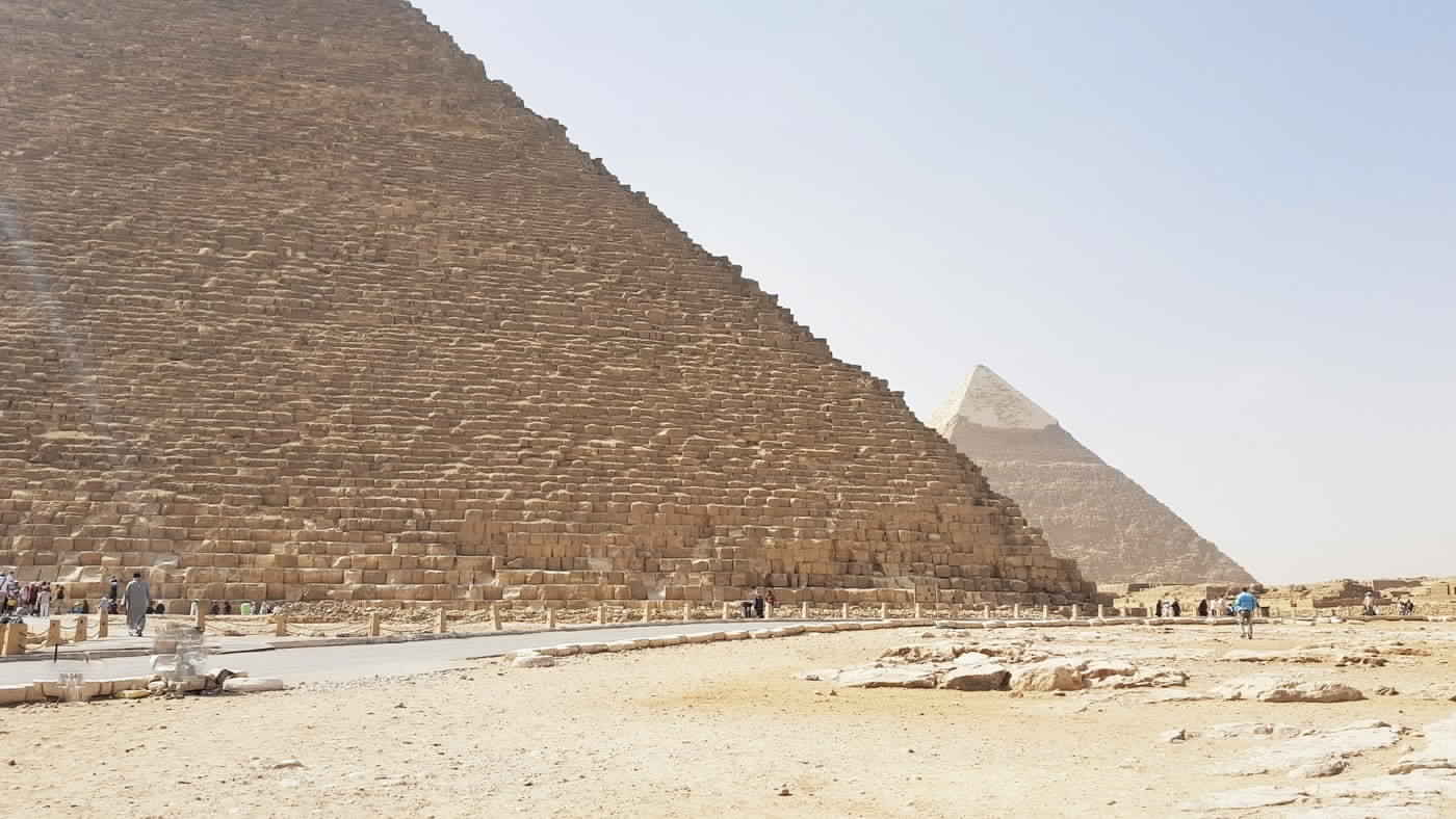 New Scanning for the Great Pyramid , top historical site to visit in Egypt