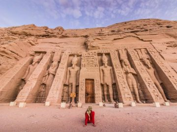 Mysteries of Egypt Tour- Egypt in-Depth, Abu Simbel Day Trip take a day tour to one of the best iconic place in Egypt the ancient temples of Abu Simbel that was built by the great Pharaoh Ramses II for himself as a God and his main wife Queen Nefertari the most of beautiful woman in ancient Egypt., Treasures of Egypt Tour - Egypt Explorer
