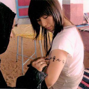 Nubina aswan henna tatto