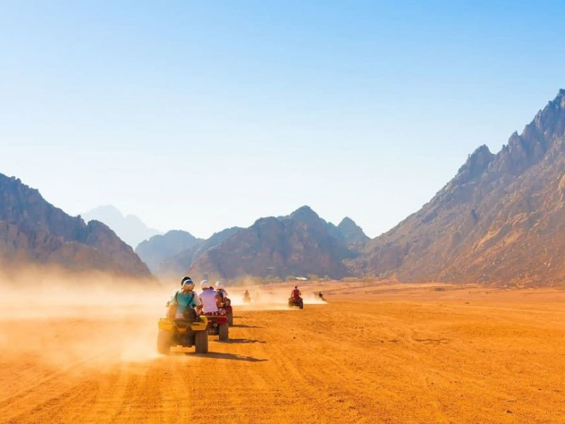 Hurghada Mega Desert Safari Quad Bike, 4W Jeep & Camel Ride