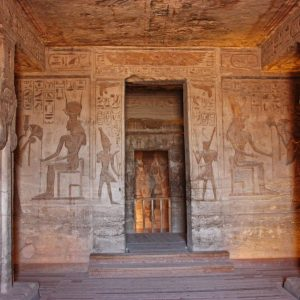 abusimbel inside walls