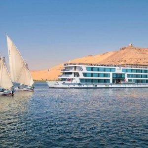 amwaji living stone luxury nile cruise luxury trip
