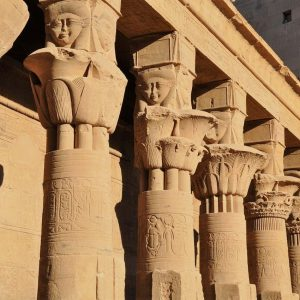 aswan temple isis