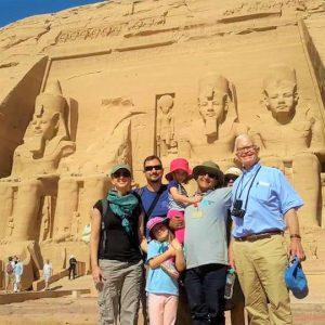 best family trip to egypt abu simbel