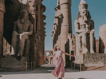Half Day Luxor East Bank Tour – Temples of Karank & LuxorBest Luxor Day Tour Treasures of Luxor