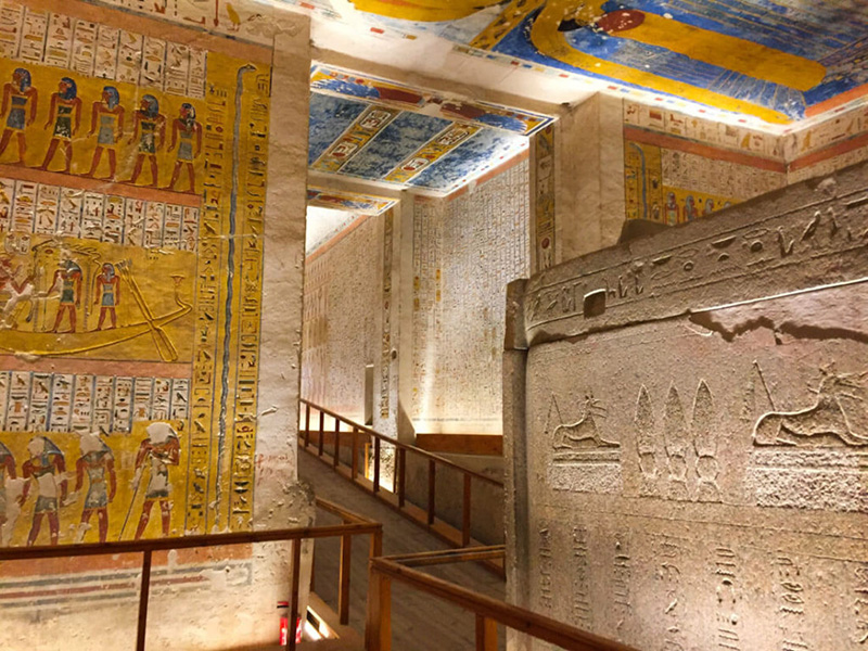 Valley of the Kings tombs Best Luxor tour . Luxor Half Day Tour