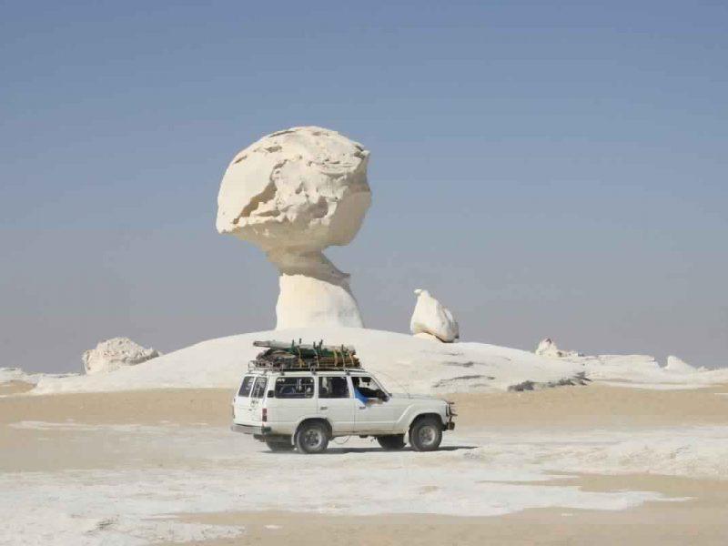 Egypt White Desert Safari Adventure , Egypt Desert Experience