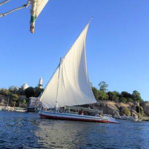 felucca sailing aswan to luxor best