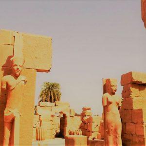 karnak temple tutankhamun statues explore egypt