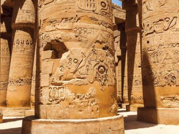 Tour Package to Cairo and Luxor -Discover Cairo & Luxor, Egypt Pharaohs Adventure, Half Day Luxor East Bank Tour – Temples of Karank & Luxor