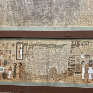 the egyptian muesum papyrus