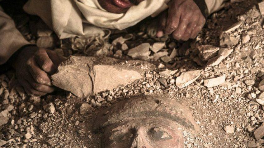 New Ancient Tomb Discovered in Abu-Sir, Egypt