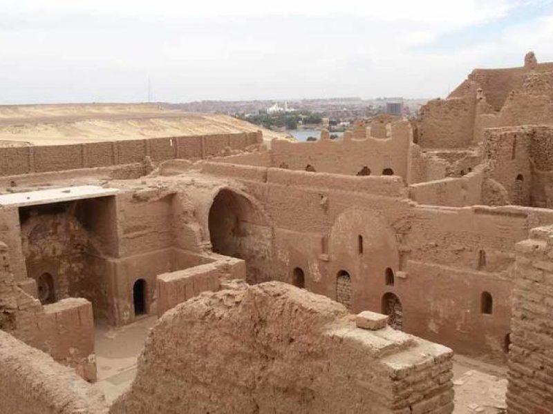 Aswan Tour of St Simeon Monastery & Camel Ride
