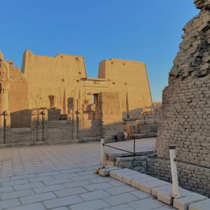 Edfu temple of Hours look at egypt tours