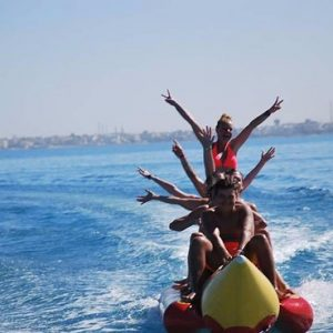 Hurghada Dolphin House and Banana Boat.