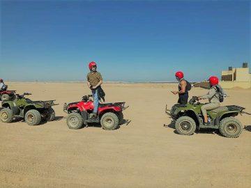 Hurghada Mega Desert Safari Quad Bike, 4W Jeep & Camel Ride