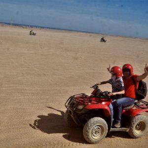 best quad bike safari Hurghada