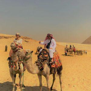egypt trip camel ride