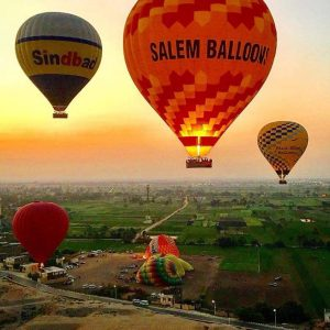 Luxor Hot Air Balloon Tours – Hot Air Balloon Ride over Luxor's West Bank