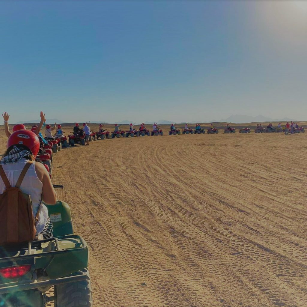 Egypt Adventure Travel Ideas, itineraries and Inspiration. Hurghada Mega Desert Safari Quad Bike, 4W Jeep & Camel Ride