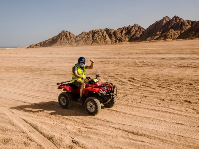 Morning Hurghada Quad Bike Safari Adventure