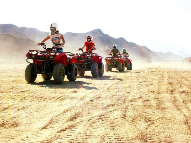 Best of Sharm El Sheikh safari Quad Bike &Camel Ride
