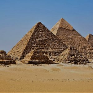 all pyramids of giza in one image