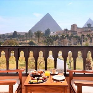 best pyramid view hotel