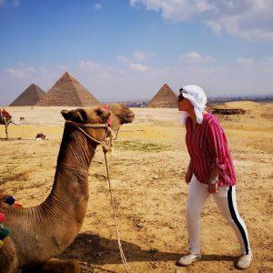 egypt camel trip