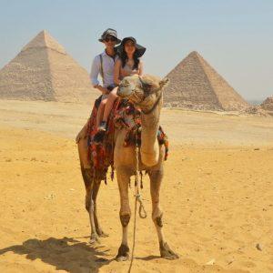 best family tour in egypt camel ride