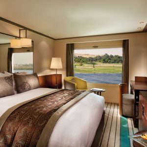 best luxury nile cruise rooms