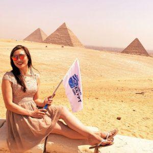 egypt family tour woman travel