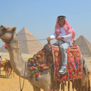 camel ride at the pyramids of giza