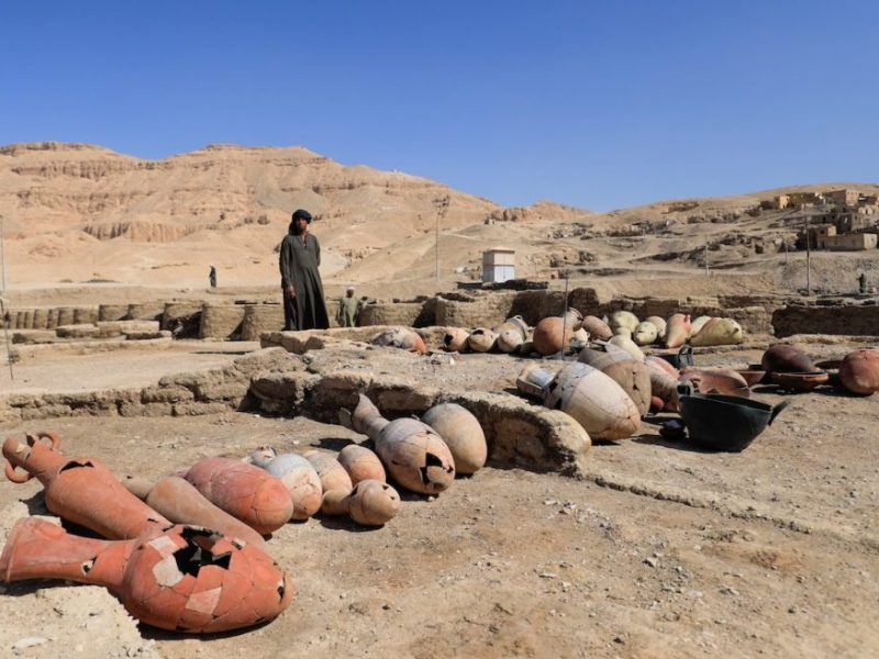 the latest discovery in Luxor -lost city