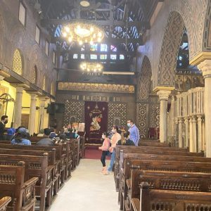 hanging church old Cairo Egypt
