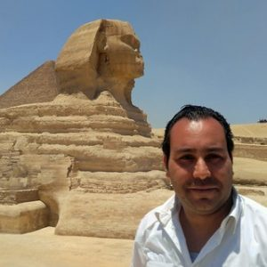 Ahmed Abd alfattah owner of look at egypt tourd